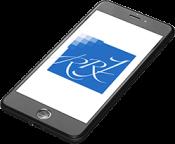 Handy mit App - Jürgens und Partner ihr Wirtschaftsprüfer und Steuerberater in Münster